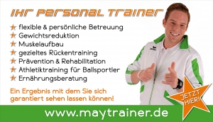 Personal Training in München mit Markus May