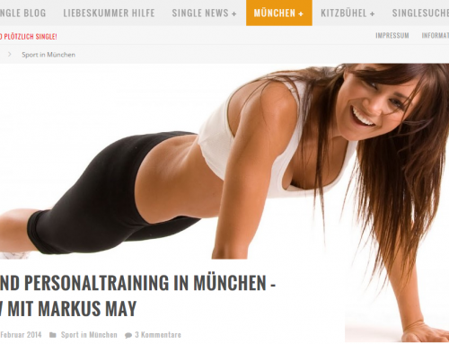 Fitness und Personaltraining in München – Interview mit Markus May