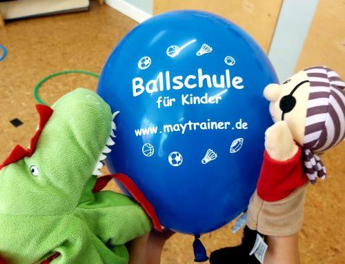 Neuer Ballschulkurs für Kinder startet am 19.9.2020